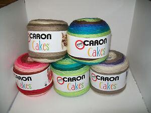 Caron Cakes Gradient Medium Worsted Yarn Acrylic Wool Ebay