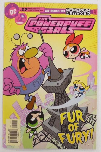2000 Comic # 57 ~  FUZZY LUMPKINS ~ HIM ~ Ms BELLUM ~ DC CN POWERPUFF GIRLS