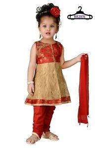 Baby Girl patiala salwar suit Leggings toddler infant indian dress uk sizes