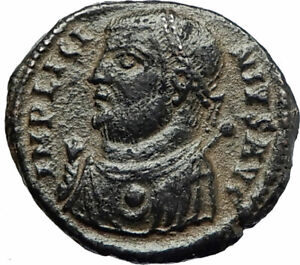 LICINIUS-I-Constantine-I-enemy-317AD-Authentic-Ancient-Roman-Coin-JUPITER-i76673
