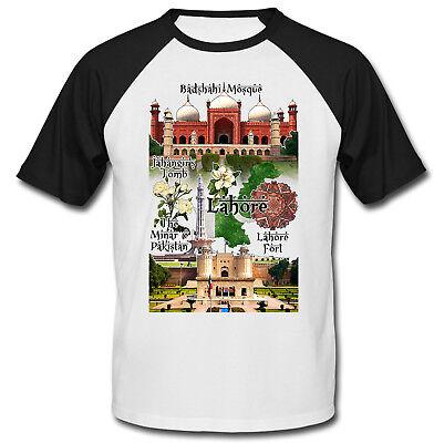 100% Vero Pakistan-lahore Nuovi Cotone T-shirt Da Baseball-mostra Il Titolo Originale Valore Eccezionale