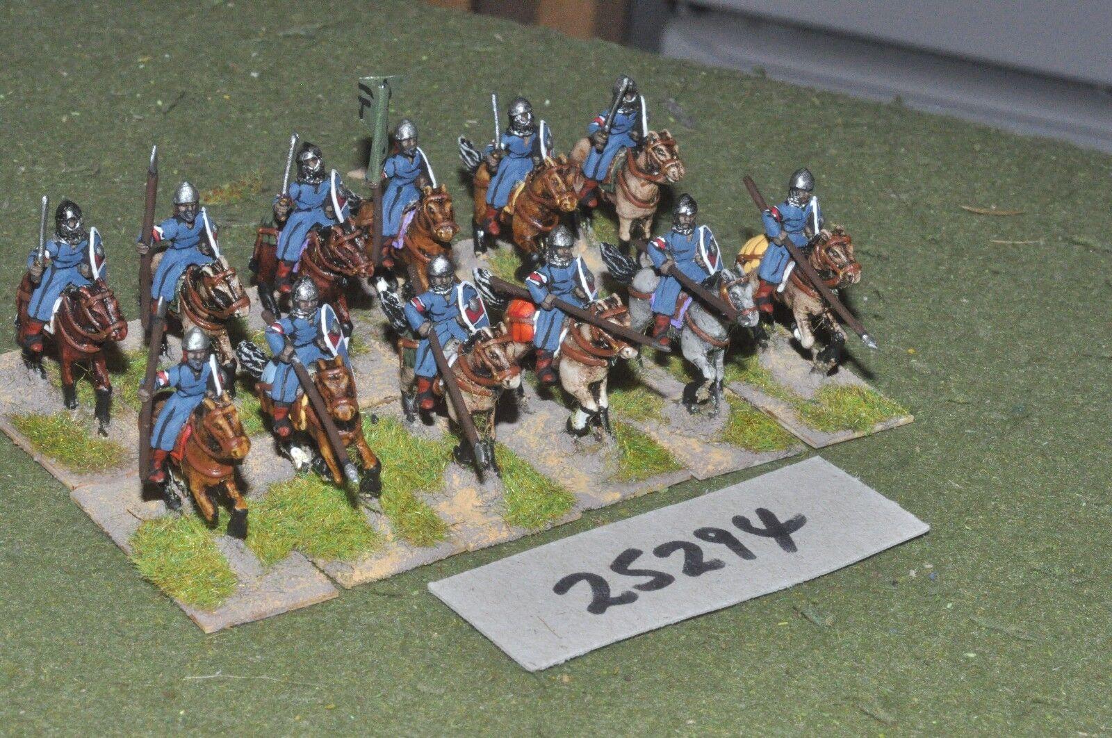 20mm medieval Sarraceno-Heavy 12 figuras-CAV (25294)