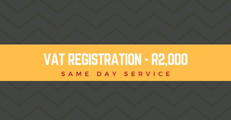 Register  for VAT - Same Day Service
