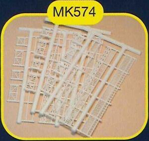 Maquette MKD - MK574 Clotures de jardin