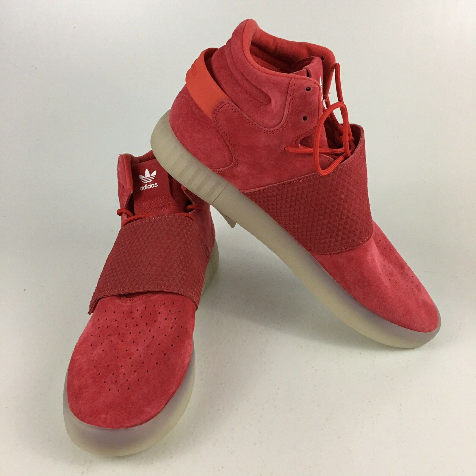watch 06177 cfd5b New Adidas shoes Tubular Invader Strap Suede BB5039 Size 13 ...