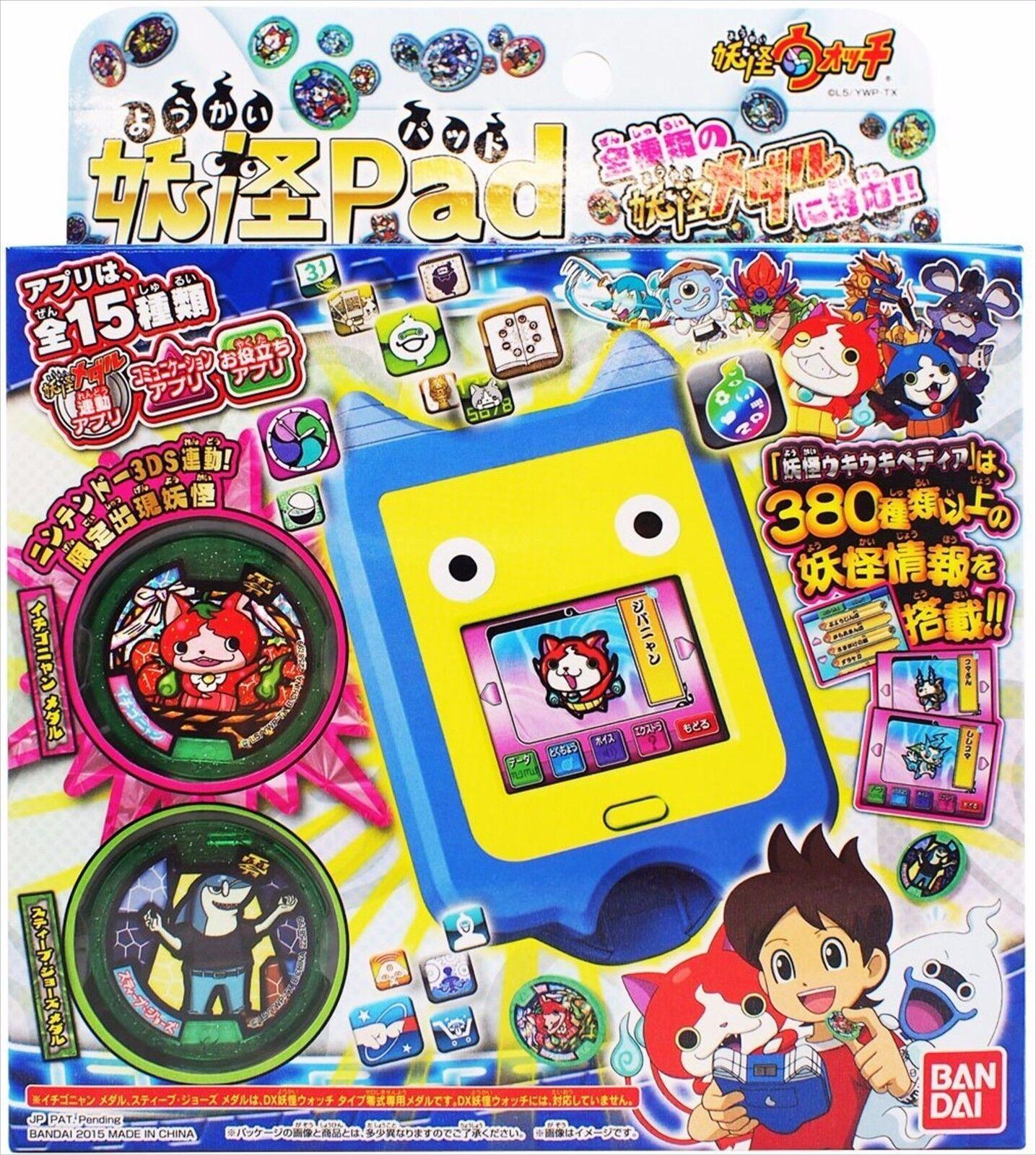 Yo-Kai Watch Yo-Kai Pad Medals Bandai Japan youkai yokai Jibanyan Jibanyan Jibanyan F S 690829