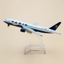 16cm Airplane Model Plane Brazil Air VARIG Airlines Boeing 777 B777 Aircraft