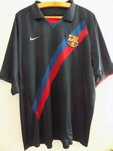 2002-Nike-FC-Barcelona-Camiseta-Football-Mens-Soccer-Jersey-Shirt-Adults-Top-XXL