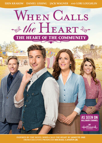 When Calls the Heart: The Heart of the Community DVD NEW