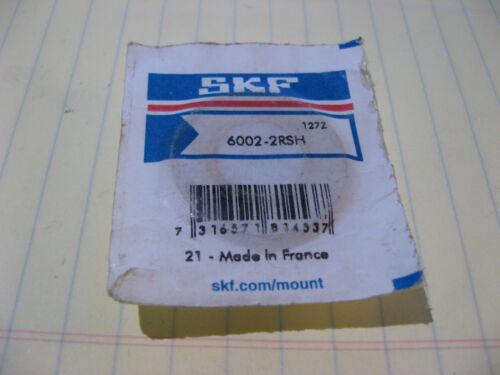 6002-2RSH SKF Bearing Sealed Pkg NOS