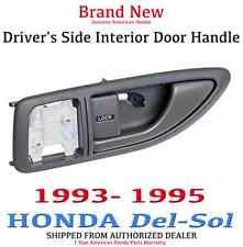 Genuine OEM Honda Del-Sol Driver's Side Grey Interior Door Handle 1993-1995