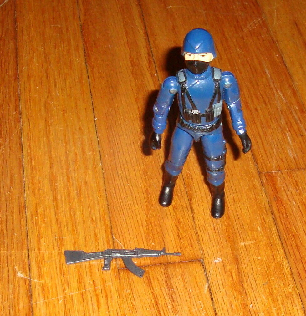 1983 G.I. Joe Cobra Officer Swivel Arm Action Figure Complete Hasbro