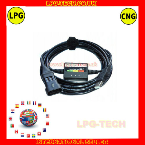 Cable de programación de diagnóstico BRC Sequent 24 Interfaz USB LPG Autogas