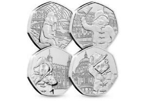 Paddington Bear At The Station And Paddington at the Palace Coins Set BU