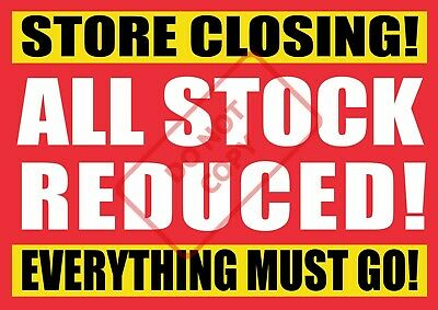 FREE UK P/&P b SALE POSTERS SHOP WINDOW SIGN BANNER