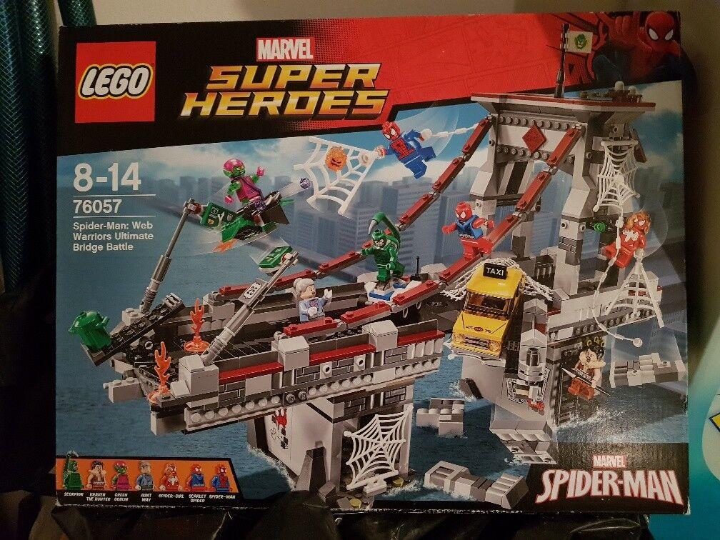 Lego 76057 spiderman ponte avengers lotto lotto lotto kg fuori produzione 27726a