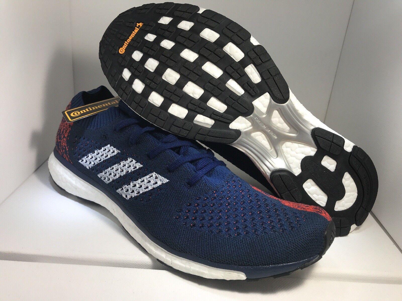 Adidas Adizero Primeknit Boost LTD Size 12 AQ2366 Mystery Blue Maroon
