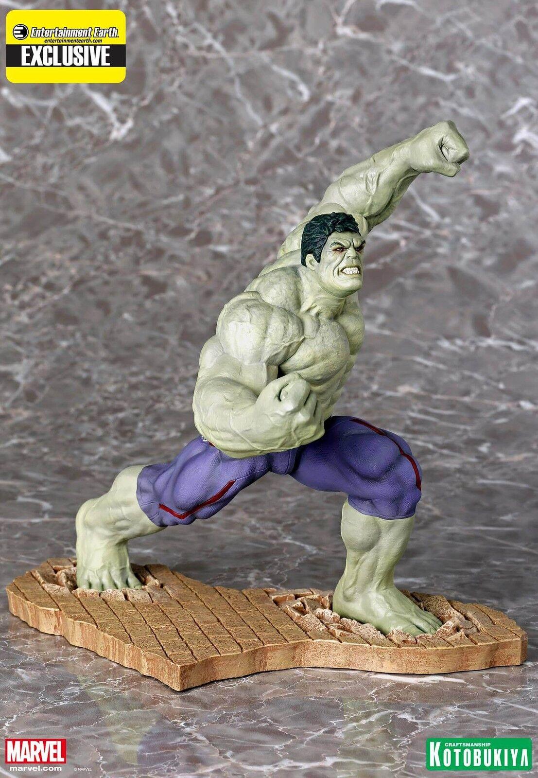 Avengers Age of Ultron Rampaging Hulk ArtFX Statue -EE Exclusive KOTOBUKIYA