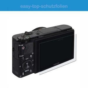 Sony-Alpha-7-III-3x-Anti-reflejo-Pelicula-Protectora-de-Pantalla-Anti-Shock