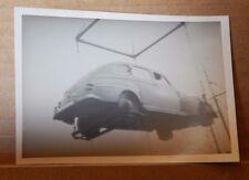 Photograph Automobilia 1948 Ford Super deluxe Fordor loaded on shipping Crane