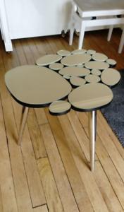Table basse miroir déco