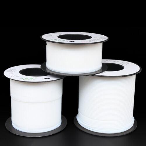 PTFE Tube Tubing//Pipe Translucent 0.3~8.4mm For 3D Printer Variou Size