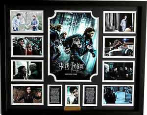 New-Harry-Potter-Signed-Limited-Edition-Memorabilia-Framed