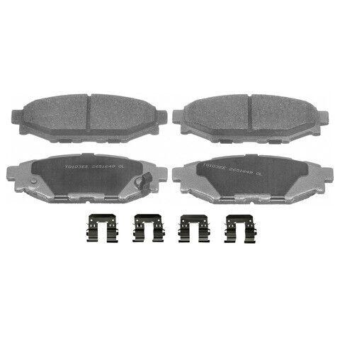 Disc Brake Pad Set-ThermoQuiet Disc Brake Pad Rear fits 15-18 Subaru Impreza