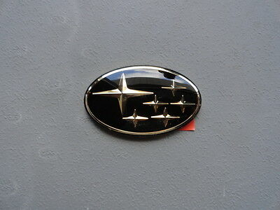 SUBARU LEGACY OUTBACK GOLD OVAL EMBLEM NEW NOS MADE IN U.S.A
