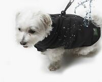 Paws Dog Coat W/ Built In Harness Wind & Water Proof 5 Size Choices