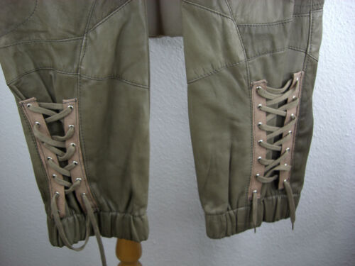 Nappa Pantaloni Lederhose lammnappahose Pantaloni originale Mel /& Davis New York NUOVO