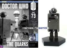 OFFICIAL DOCTOR WHO FIGURINE COLLECTION #73 QUARK EAGLEMOSS DOMINATORS (71 72)