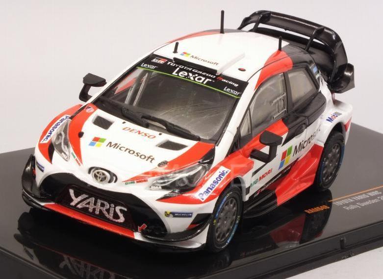 Toyota Yaris WRC Rally Sweden 2017 1 43 RAM648 Ixomodels