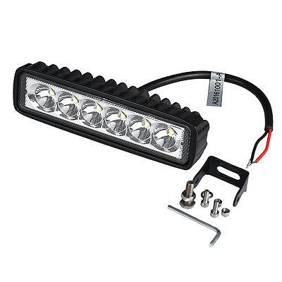 18W Auto LED Licht Work Driving Fog Offroad Positionslicht SUV 4WD Boat Truck