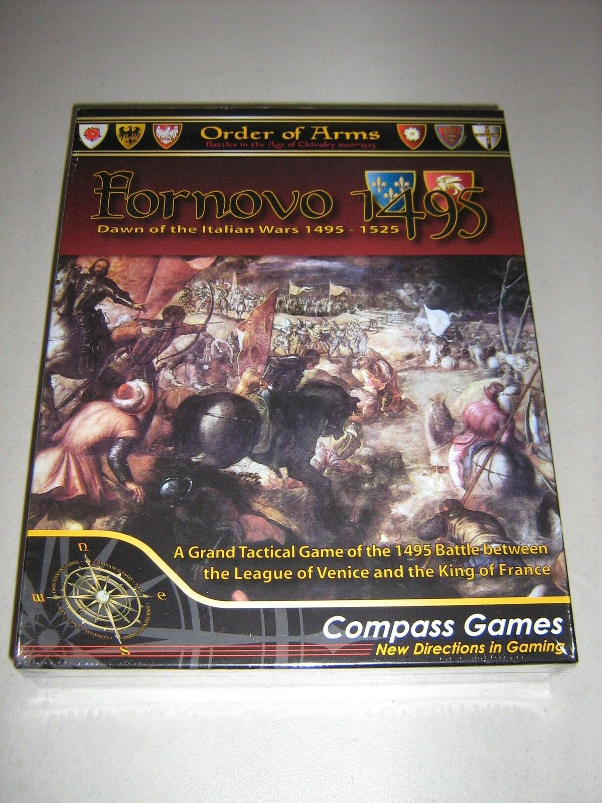 Fornovo 1495  Dawn of the Italian Wars 1495-1525 (New)