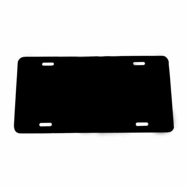 Blue Ocean Partsapiens Corp 1mm Anodized Aluminum License Plate Blank Heavy Gauge .040 - 12x6