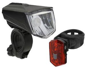 Büchel Vail LED Fahrradlampe 80 Lux Li-ion Akku USB Ladekabel StVZO mega-hell