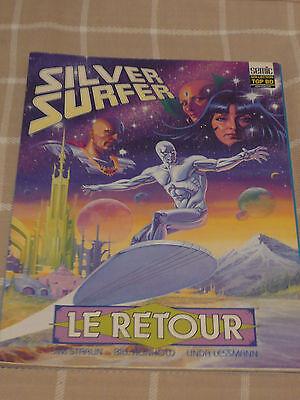 Actief Silver Surfer Le Retour Comics Semic Super Heros French Vf Collection Top Bd Lange Levensduur