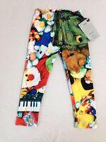 Zara Terez Kids Toyz Capri Leggings Little Girls' Size M