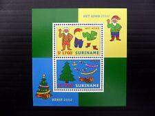 SURINAME 2002 Xmas M/Sheet MS1963 U/M FP9646