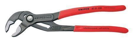 """KNIPEX 87 01 250 10/"""" Knipex Cobra Water Pump Pliers Plastic Grip"""