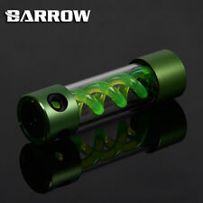 Barrow Alloy Cylinder T-Virus Green Spiral Suspension Tank Reservoir 205mm