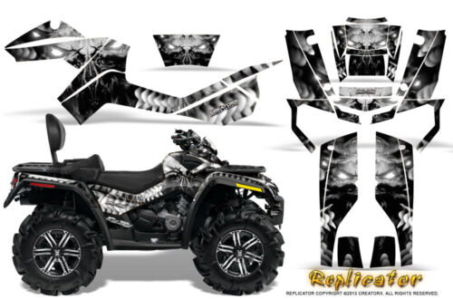 CAN-AM OUTLANDER MAX 500 650 800R GRAPHICS KIT CREATORX DECALS STICKERS RCS