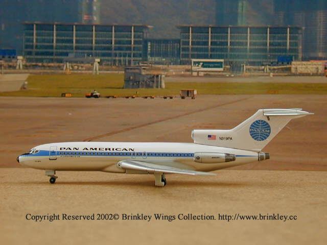 Pan American  B727-200 (N319PA) (N319PA) (N319PA)  Jet Clipper Ponce de Leon , Dragon Wings 55430 2405d4