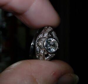 bague diamant art deco