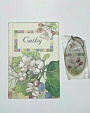 Cathy Pictura Address Book Bonus Matching Keyring