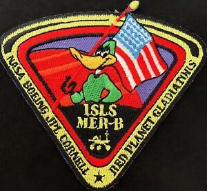 RARE-JPL-NASA-DUCK-DODGERS-MARS-SPACE-PATCH-3-5-034-Diameter