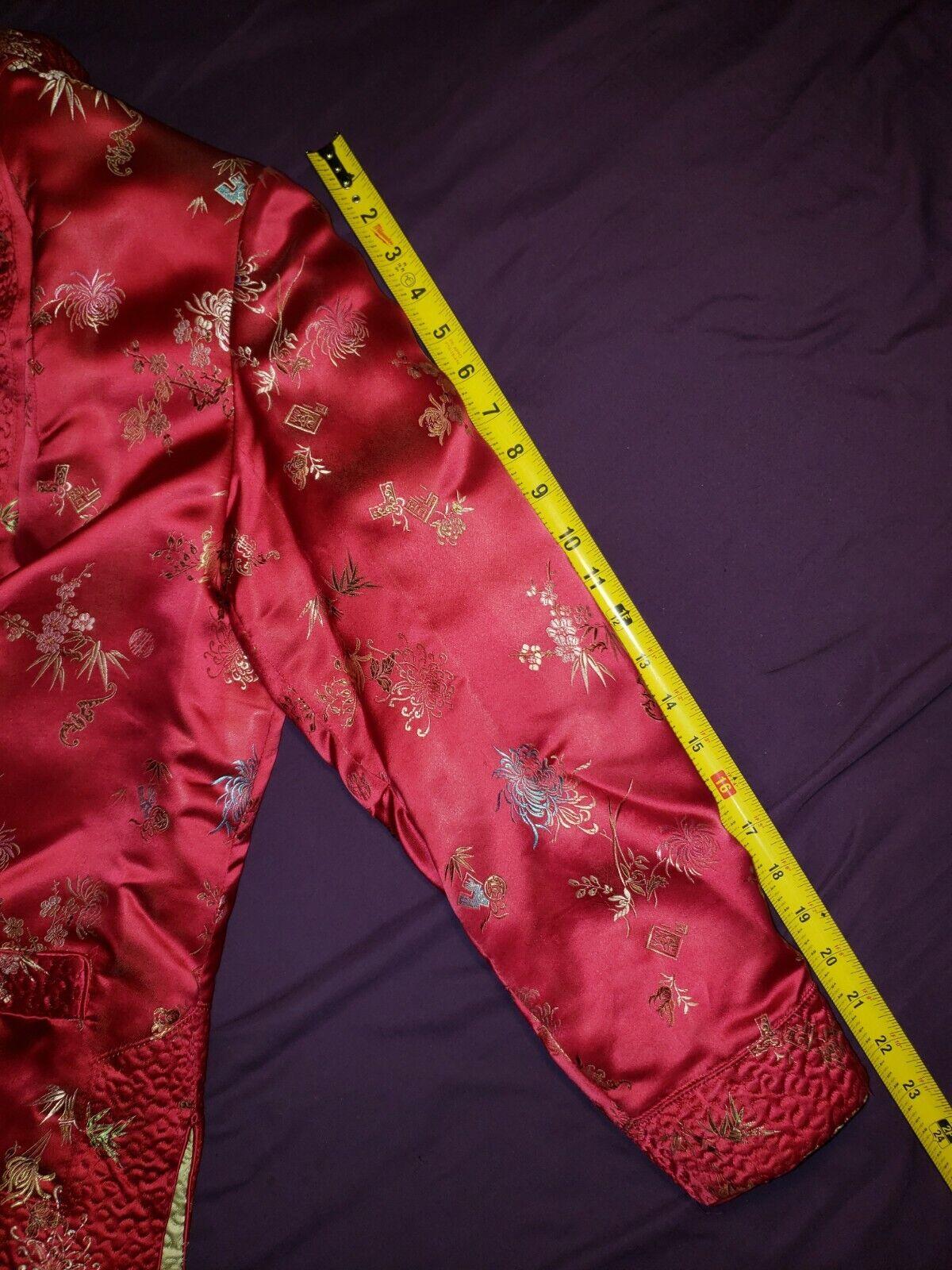 Qipao Long Sleeve Top Brocade - image 4