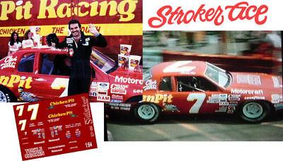 CD/_884 #7 Stroker Ace Burt Reynolds Chicken Pit Thunderbird   1:43 DECALS