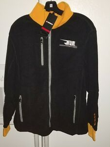 Rahal-Letterman-Lanigan-Honda-Racing-Men-039-s-Hairpin-Fleece-Jacket-NWT-Large
